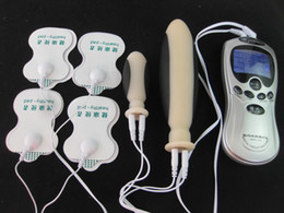 Wholesale Physiotherapy Sex - Physiotherapy Electric Shock Body Massager Therapy Machine Masturbation Anal Plug Erotic Audlt Sex Toys