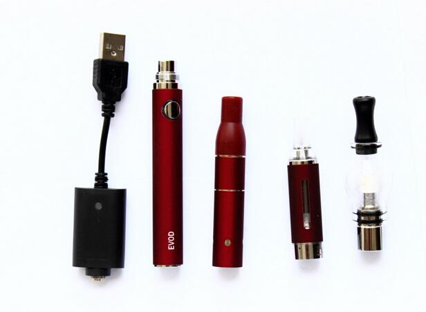 Electronic Cigarettes Magic 3 in 1 Kit with Ago MT3 Wax Glass Globle atomizer 1 evod batterys +eGo USB charger E cigarette vaporizer