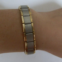 Wholesale Energy Magnetic Titanium Germanium Bracelet - Wholesale -100pcs man's &woman's Energy Magnetic Titanium bracelet, Nano Energy Magnetic Titanium Germanium Bracelet Pain Relief Powerfull!
