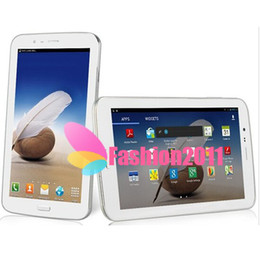 Wholesale Phablet 3g Hd - 7'' Ampe A73 Android 4.2 Tablet 2G Phone Call Phablet MTK8312 Dual Core IPS 1024*600p HD Screen 512MB 8G Dual Camera 3G WCDMA GPS 002415
