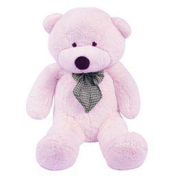 Wholesale Cute Big Teddies - S5Q Hot Giant Big Cute Plush Teddy Bear Huge Soft Cotton Stuffed Animal Toy Gifts AAABXL