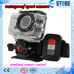 Wholesale Pcs Images - Full HD 1080P Sports Camera With WIFI G386 Armband Remote Control By Phone Tablet PC 1080P Full HD 40 meters Waterproof,wu