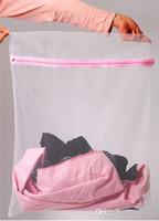 sacos para sutiã venda por atacado-30 * 40 cm Máquina de Lavar Roupa Especializada Underwear Lavar Saco de Malha Saco de Lavar Roupa Bra Cuidados Sutiã