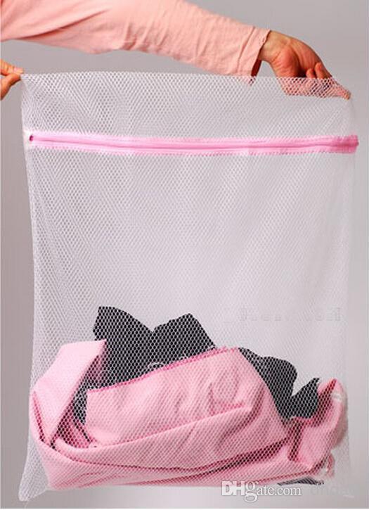 30 * 40cm غسالة ملابس داخلية خاصة كيس الغسيل شبكة كيس حمالة الصدر كيس الغسيل الغسيل