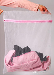 Wholesale Mesh Laundry Bags - 30*40cm Washing Machine Specialized Underwear Washing Bag Mesh Bag Bra Washing Care Laundry Bag