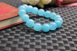 Wholesale Sapphire Sea Crystal - free shipping - Brazil sea sapphire crystal The aquamarine pulp bracelet
