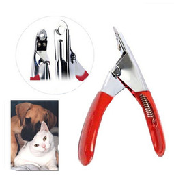 Wholesale Sale Trimmers - Free Shipping Profession Pet Dog Cat Nail Toe Claw Clippers Scissors Trimmer Groomer Cutter hightquality top sale