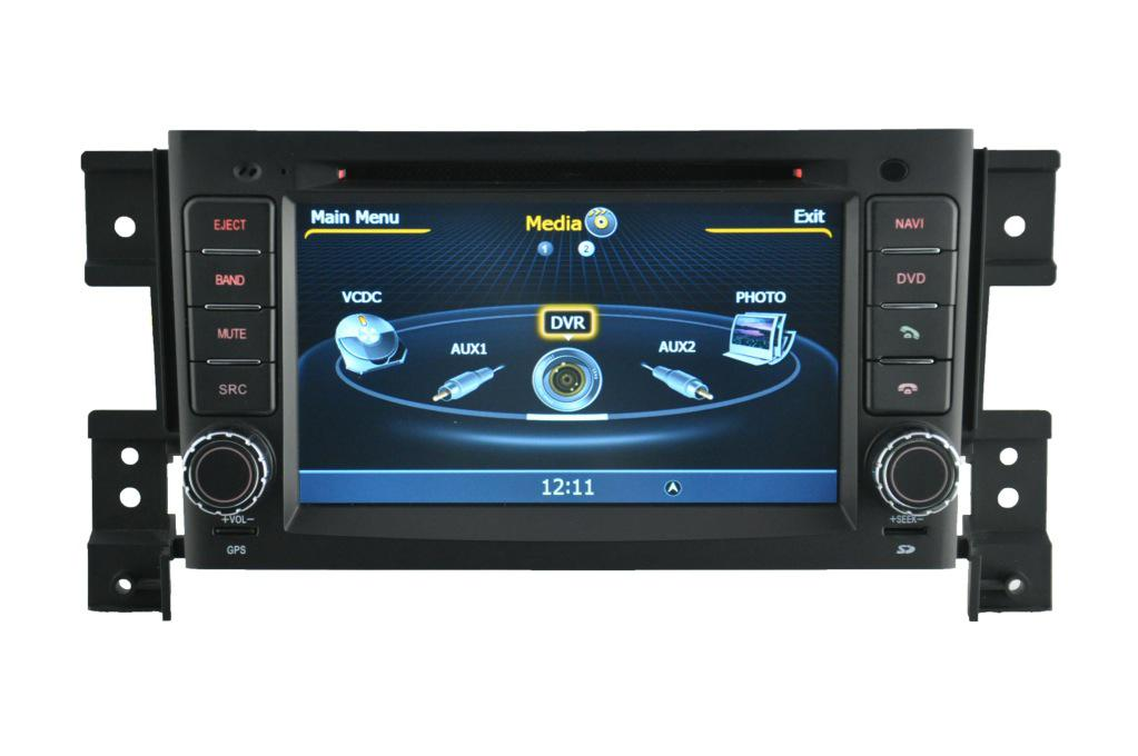 2017 suzuki grand vitara multimedia navigation gps sat nav car dvd radio car stereo from. Black Bedroom Furniture Sets. Home Design Ideas