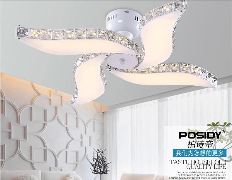 excellent vente en gros nouveau design lumire ventilateur de plafond conduit moderne lumire de. Black Bedroom Furniture Sets. Home Design Ideas