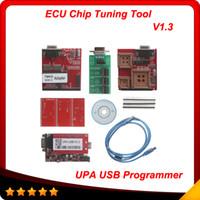 Wholesale Upa Usb Programmer - 2014 Top selling UPA USB Serial Programmer Full Package V1.3 Popular Eeprom Universal Chip Programmer auto ECU Tool In stock