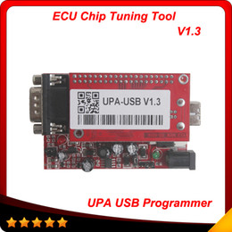 Wholesale Upa Adapters - 2014 New Arrivlal UPA USB Programmer V1.3 UPA USB Full Adapters UPA Chip Tuning Tools ECU Programmer Serial Programmer