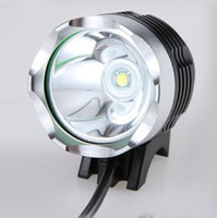 Wholesale bike light headlamp for sale - 1800 Lumen CREE XML T6 LED Bike Bicycle Light headLamp Modes Bike Light Bicycle Front Lamp HeadLight Pack with battery pack charger