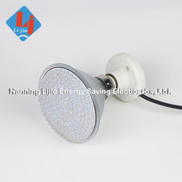 Wholesale Led Coral Reef Lighting - DHL fedex fast delivery 9W Par38 E27 Led grow light red blue orange white for medical plant or white and blue for coral reef