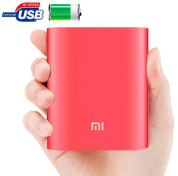 Wholesale External Battery For Blackberry - Xiaomi 10400mAh powerbank Portable External USB Battery Charger Pack   Power Bank for Xiaomi Samsung LG iPhone HTC Google Blackberry MP3