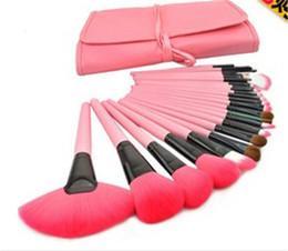 Wholesale Make Up Brushes 24pcs Pink - Top Quality Makeup Tools 24PCS Set Professional Makeup Brush Synthetic Hair Make Up For You Brush