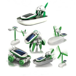 Wholesale Toy Robot Assemble - SKU769 6 and 1 fancy originality solar DIY assembling toys