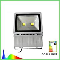 Wholesale Light Luminance - 2 LEDs High Luminance ture 100W Led Floodlight street light 85-265V 10000LM Waterproof LED Square Light High Quality 3 years warranty