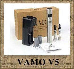 Wholesale E Cigarette V5 - Vamo V5 Starter Ego Kit LCD Display Variable Voltage Battery CE4 Atomizer Clearomizer e cig electronic cigarette