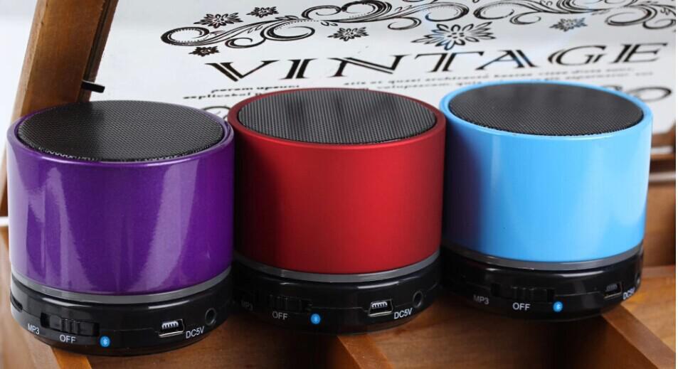Partihandel - Mini Beatbox Hi-Fi Bluetooth S11 Högtalare Bärbar Subwoofer Support Dual LED Ring Handsfree Samtal / Laptop / Tablet