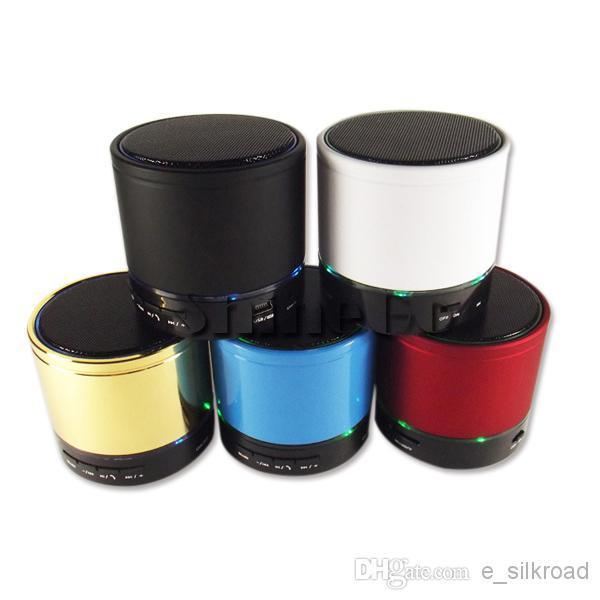 Toptan - Mini Beatbox Hi-Fi Bluetooth S11 Hoparlörler Taşınabilir Subwoofer Destek Çift LED Halka Eller-Ücretsiz Aramalar / Dizüstü / Tablet