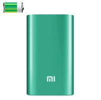 Xiaomi powerbank 5V 1.5A 5200mAh alternativo externo USB Battery Charger Pacote / Power Bank para Samsung LG iPhone HTC Blackberry