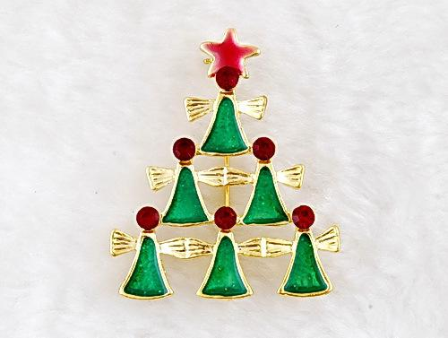 Christmas RHINESTONE pins mixed Different Styles Bouquet Brooch wild costumes brooch jewelry Christmas ornaments for Christmas