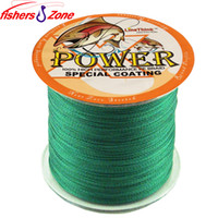 Wholesale STRONG Strands POWER Braided Fishing Line m Japanese green Multifilament Fishing line lb LB Power PE fishing line