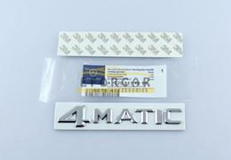 10pcs / lot emblème de voiture emblème véritable OEM 4 Matic W124 W210 E CLS R classe S ? partir de fabricateur