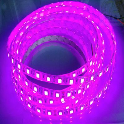 5M 5050 3528 SMD светодиодные полосы светло-фиолетовый / розовый один цвет водонепроницаемый IP65 не водонепроницаемый водонепроницаемый 300 светодиодных полосок DC 12 В Новое поступление