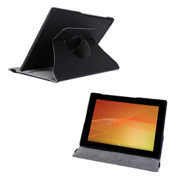 Wholesale Xperia Tablet Leather Cover - S5Q 360° Rotating Stand Case PU Leather Cover For Sony Xperia Tablet Z2 10.1'' AAADQN
