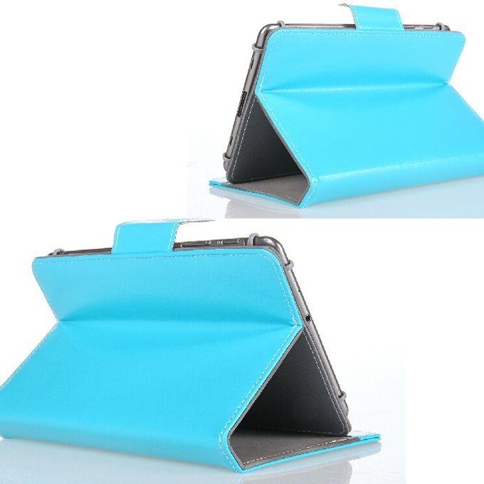 새로운 7 8 9 10 인치 PU 가죽 케이스 Epad Apad 휴대용 퍼스널 컴퓨터 정제 PC를위한 홀더를 가진 붙박이 카드 버클로 덮인 덮개 수호자 피부