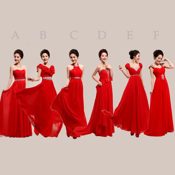 rojos para damas honor bodas