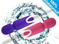 Wholesale waterproof vibrating plug for sale - iWand Magic Wand Massager Modes Rechargeable AV Vibrator Vibrating Waterproof Full Body Massager US UK EU AU Plugs DHL