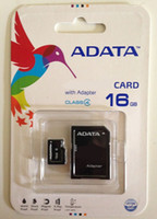 Wholesale Real Micro Sd Card 8gb - 100% Real ADATA 1GB 2GB 4GB 8GB 16GB 32GB 64GB 128GB 256GB Class10 Micro SD TF Memory SDHC Card SD Adapter Retail Package