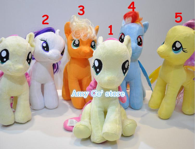 2019 My Little Pony Plush Toys Doll Large 28cm Cute Stuffed Animals
