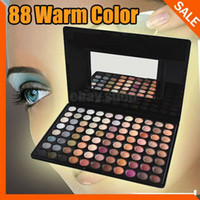 Wholesale Eyeshadow Palette 88 Warm Pro - Fashion Pro 88 Warm Color Fashion Eye Shadow Palette Profession Makeup Eyeshadow for party makeup casual makeup wedding makeup