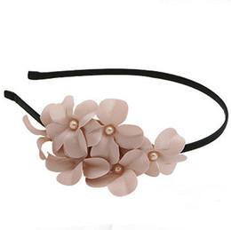 Freeshipping (6 PCS LOTS)Bloom Fancy Flower Hairbands Korea Style Headbands  For Girls Hair Accessories e981206fa2c