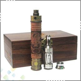 Wholesale Electronic Cigarette X - Hottest E-Fire Wood Kit Variable Voltage Battery Wood E Cigarette X fire Electronic Cigarette X.fire E Cig Battery VV Mod E Cigarette Kit