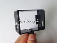 standart çerçeveler toptan satış-Gopro Kamera Aksesuarları Standart Çerçeve Koruyucu Kamera HD Kamera Hero 3 Kameraer sj4000 Drop Shipping için Konut