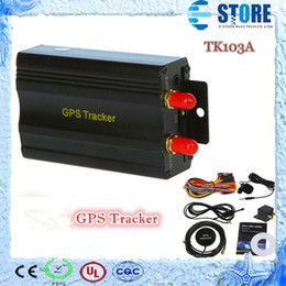 Wholesale Quattro Cars - Real-Time GSM GPRS Tracking Vehicle Car GPS Tracker 103A Tk103A TK103 GPS103A Real time tracker,M