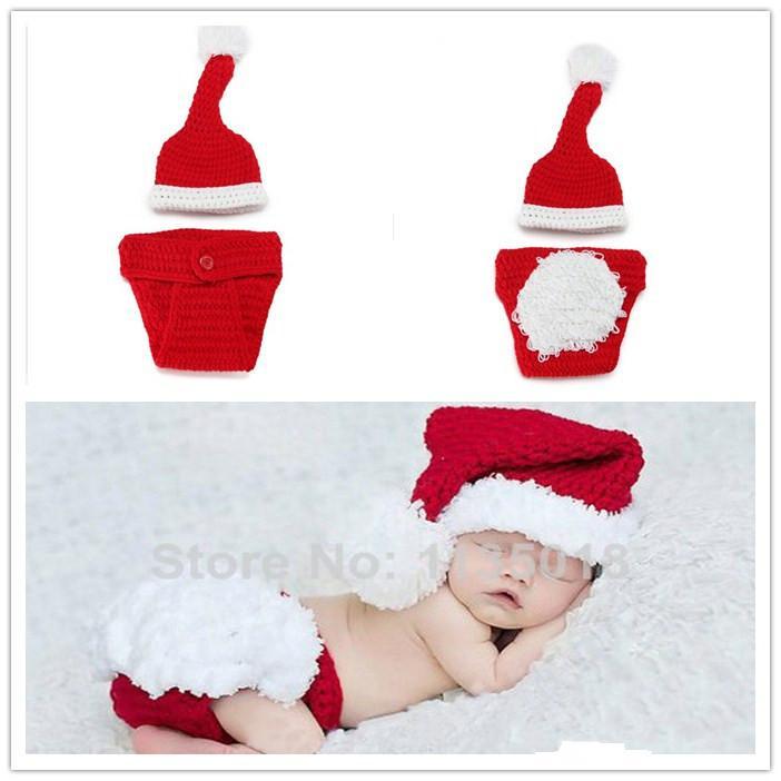 Compre Newborn Ganchillo Hecho A Mano De La Navidad Situado Bebé Elf ...