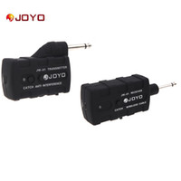 Wholesale Electric Guitar Wireless - Electric Guitar Bass Wireless Rechargeable 2.4Ghz Audio Transmitter Receiver for Musical Instrument JOYO JW-01 I357