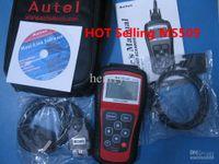 Wholesale Bmw Usb Obd Cable - Autel MS509 MaxScan code reader OBD2 FT232RL obd Scanner motor vehicle detector Scanner Code Reader autel MS 509 GS 509 GS509 AUTEL