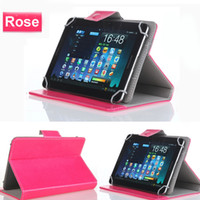 Custodie in pelle per tablet PC Custodia con gancio mobile per 7 8 9 10 pollici Universale Tabletpc iPad Air 2 3 Mini Samsung Tab 3 Note