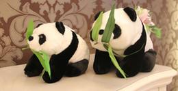 2019 panda peluche grandi 55CM grande panda squadrato bambola super mario peluche animali imbalsamati farcito grande orsacchiotto panda panda peluche grandi economici