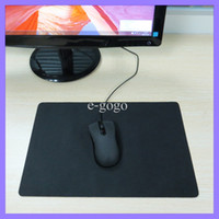 Wholesale Black Mice Mouse Pad Mat Mousepad x24cm Speed Up Gaming Mouse Mat