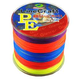 Chinese  STRONG 4 Strands PE Braided Fishing Line 500m Japan fishing line Multifilament Fishing line 8lb-60 LB linha pesca multifilamento manufacturers