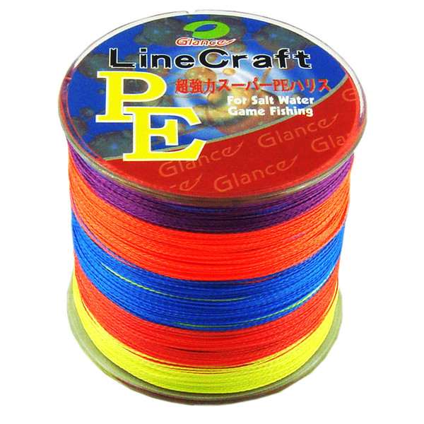 STRONG 4 Strands PE Braided Fishing Line 500m Japan fishing line Multifilament Fishing line 8lb-60 LB linha pesca multifilamento