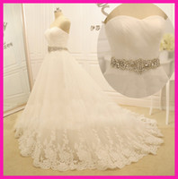 2014 Hot Selling Real Image Sweetheart Wedding Dresses Rhine...