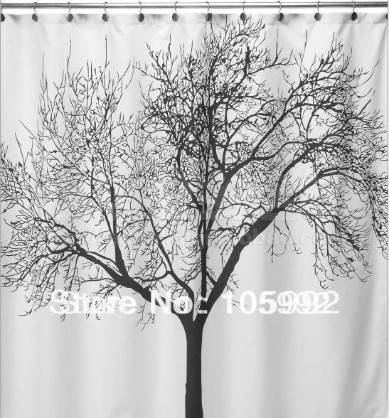beautiful shower curtains. online cheap beautiful shower curtains tree branch pattern polyester fabric bath 180*200cmcpam by wenggenglun | dhgate.com